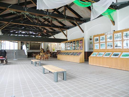 一里野ふれあい自然展示室の写真